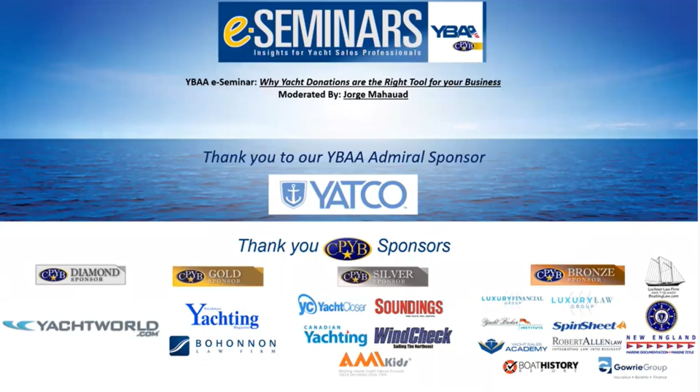 Learn Why Yacht Donation is the Right Tool to Help Your Business
